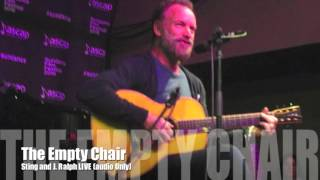 Sting and J. Ralph: 'The Empty Chair' (LIVE Audio) Sundance ASCAP Music Cafe