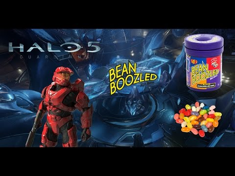BEAN SLAYER | Bean-Boozled Challenge #3 - Halo 5: Guardians Arena Mode