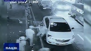 Saksi: Away ng taxi driver at pasaherong ayaw magbayad, huli sa CCTV