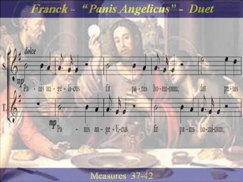 Franck Panis Angelicus Duet Tenor Score