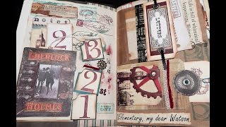 Nautical Theme and Sherlock Holmes Themed Journals - SOLD!!!