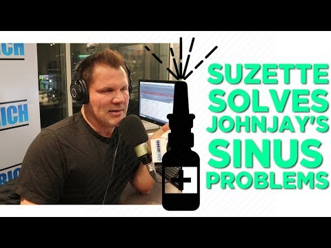 In-Studio Videos - Did Suzette Cure Johnjay's Sinus Problems?!?!