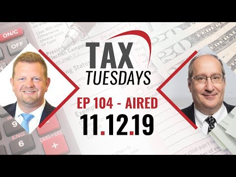 Tax Tuesday with Toby Mathis