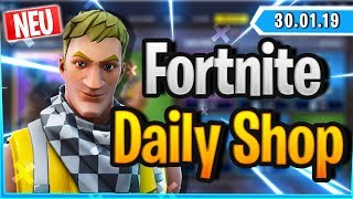 Fortnite Daily Shop *NEU* CABBIE SKIN (30 Januar 2019)