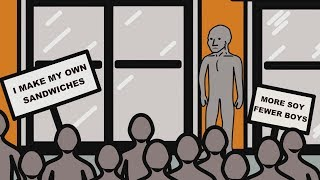 NPC University 6. The NPCs support Gillette