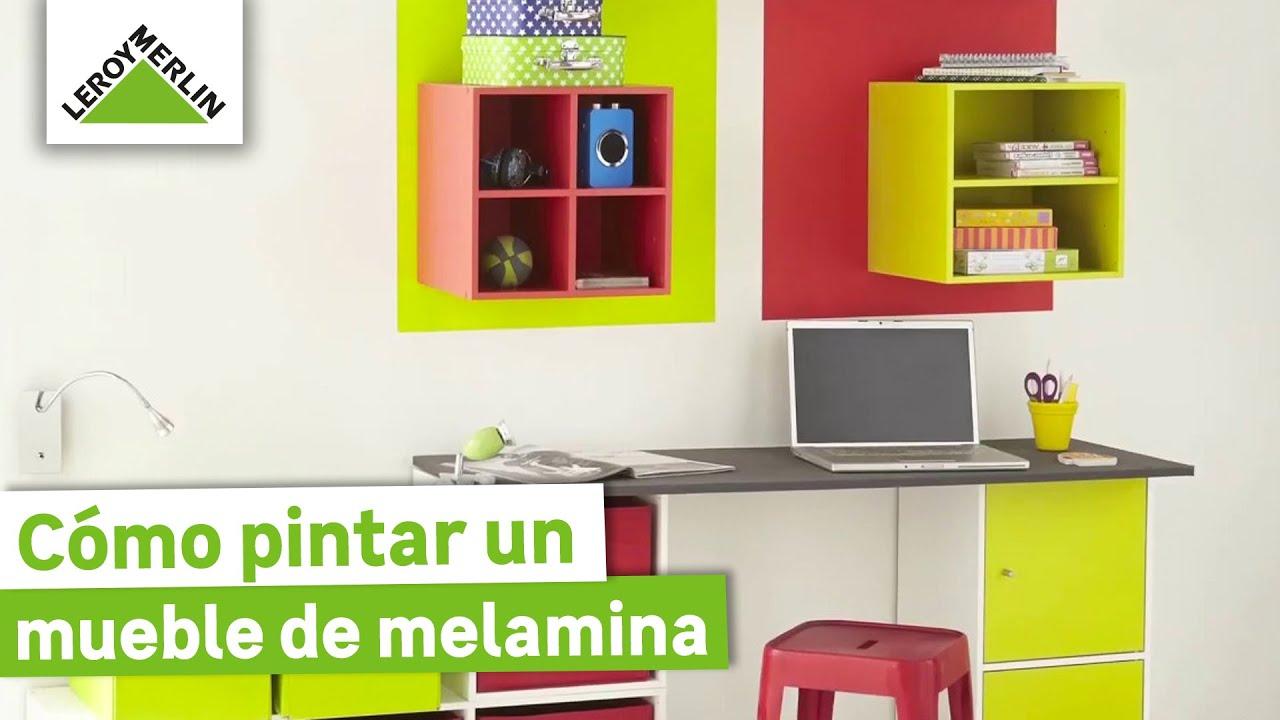 Cómo pintar un mueble de melamina o laminado · LEROY MERLIN