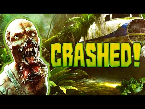 CRASHED! ZOMBIE MAP (Call of Duty: Zombies)