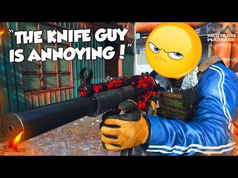 """THE KNIFE GUY IS ANNOYING!"" (Modern Warfare Rage Reactions)"
