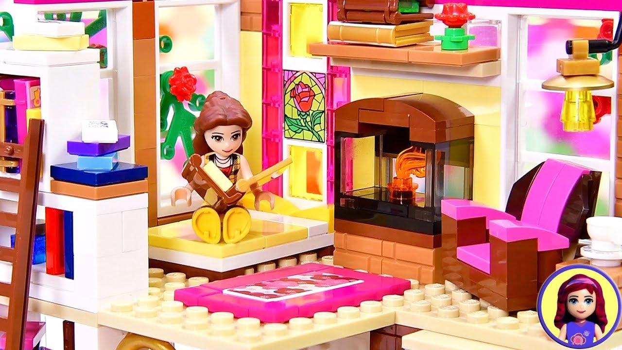 Building a Loft Bedroom for Belle 🌹 Part 1 - Modern Princess Apartment  Custom Lego Build
