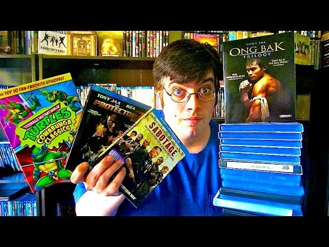 My Blu-Ray Collection Update 7/18/14 Blu ray and Dvd Movie Reviews