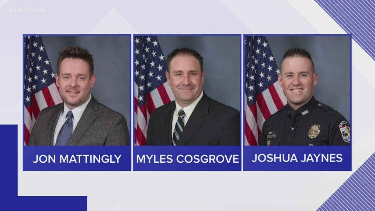 Six Louisville police officers under internal investigation for actions ...