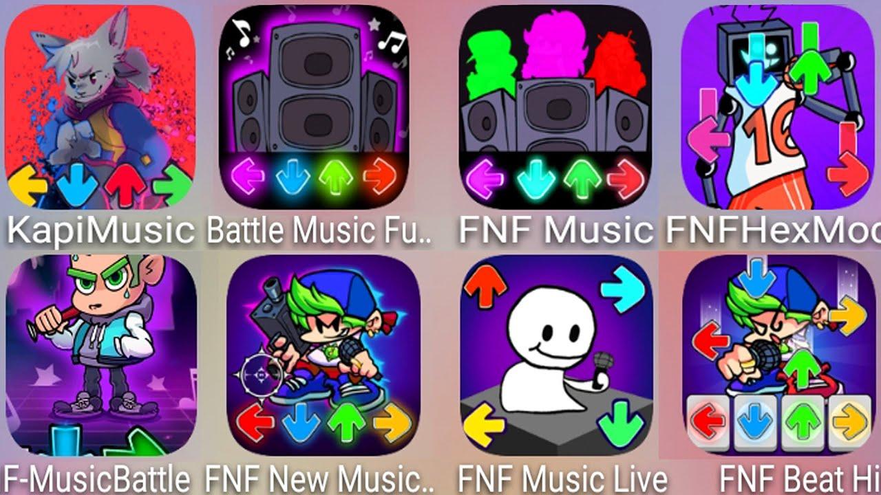 Kapi Music,FNF Hex Mod,FNF Music Live,FNF New Music Battle Funkin Friday Beat Fire,FNF Music Battle
