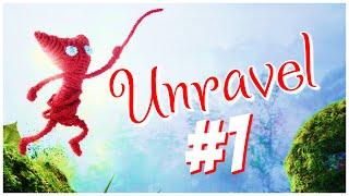Unravel Прохождение #1 Клубочек с душой^^