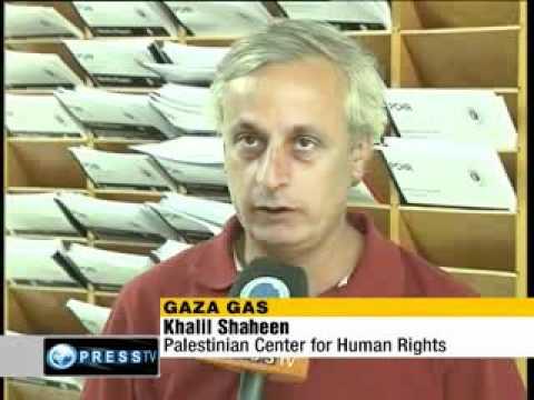 israel loots Gaza's natural reserves