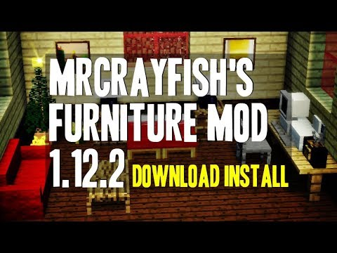 Mrcrayfish 39 s furniture mod minecraft how to for Furniture mod 1 12 2