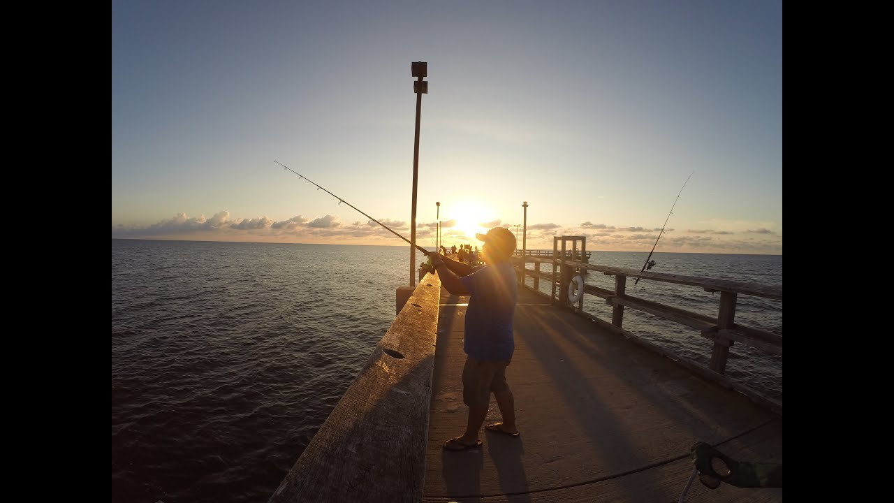 This dj gone fishing at point lookout state park youtube for Maryland fishing piers