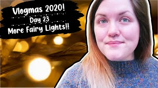 Day 23: More Fairy Lights!! ¦ The Corner of Craft Vlogmas 2020
