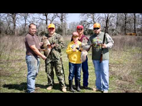 40/8 Wounded Warrior 2013 Pheasant Shoot in DimeBox Texas Documentary