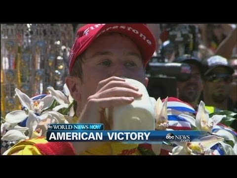 WEBCAST: Ryan Hunter-Reay Wins Indy 500