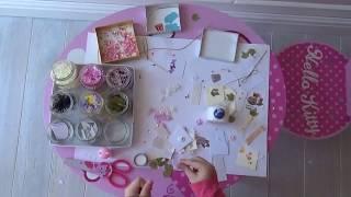 Детские поделки - чем можно занять маленькую девочку: открытки из бисера и маленьких цветочков
