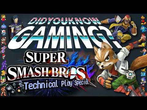Super Smash Bros. - Did You Know Gaming - Written by Innagadadavida