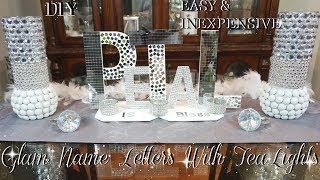 Baixar DIY BLING LETTERS  | EASY & INEXPENSIVE DOLLAR STORE DIY | ROOM DIY DECOR IDEAS | PETALISBLESS