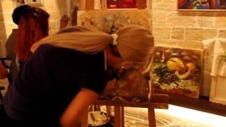 Мастер-класс живописи от Елены Ильичевой 07.09.2011