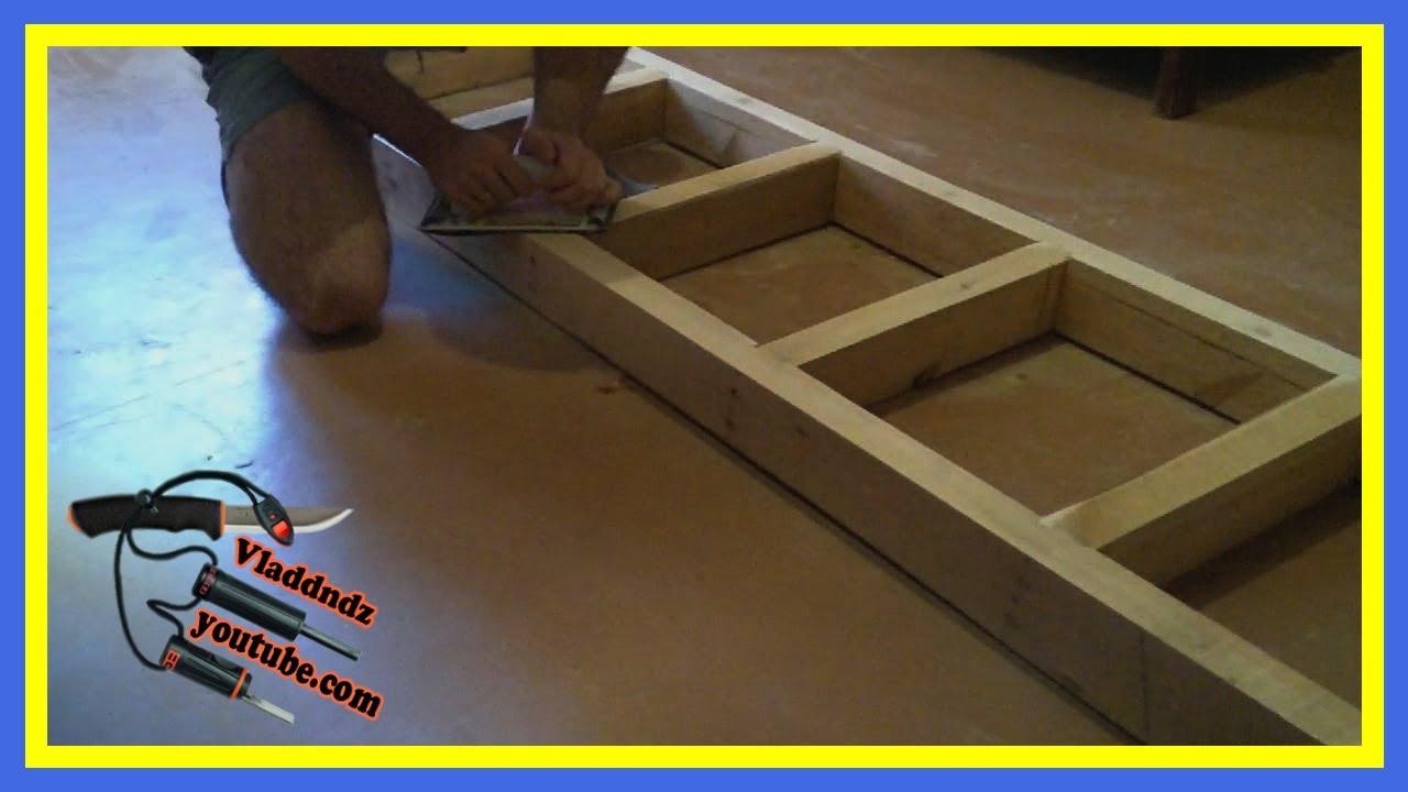 """САМОДЕЛКИН. """"Изготовление деревянной лестницы"""" (часть #1)"""