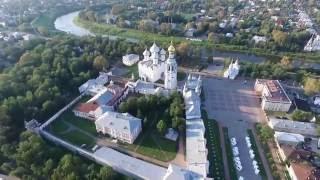 Вологодский кремль с воздуха