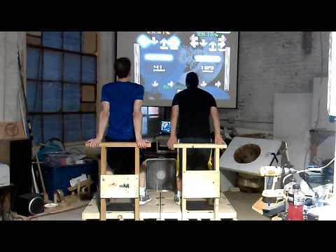 Gerf and Silver on the Wood DDR pads