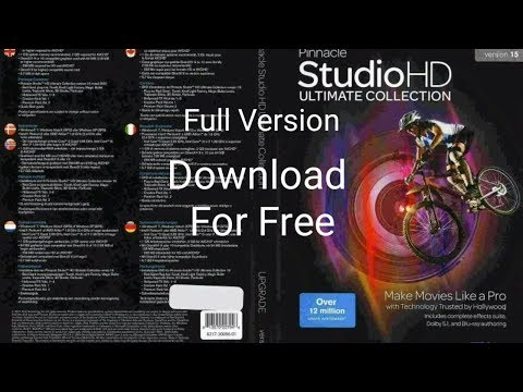 Pinnacle Studio 15 HD Ultimate Full Version Download For Free