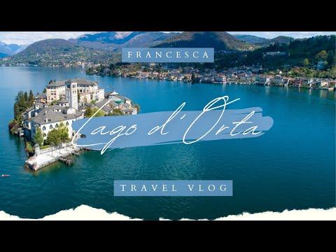 Travel Vlog // Lake Orta, Italy