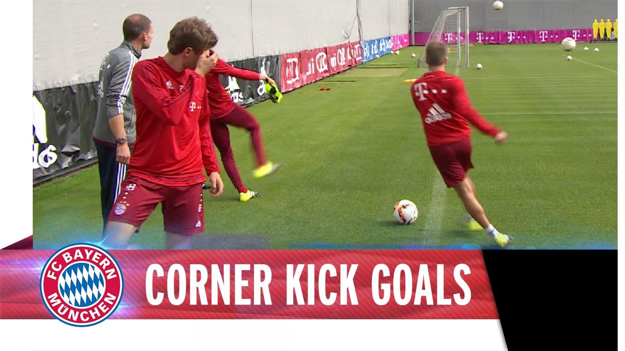 Robert Lewandowski and Bayern stars score from behind goal