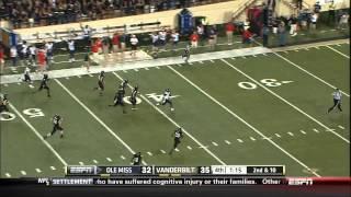 Ole Miss - Jeff Scott 75 Yd Run vs Vanderbilt