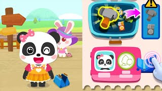 Baby Panda Train Captain - Play And Experience Driving a Train - Fun Educational Game