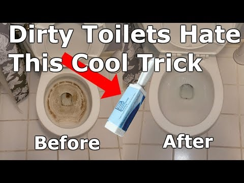 How To Remove Stains From Toilet Bowl