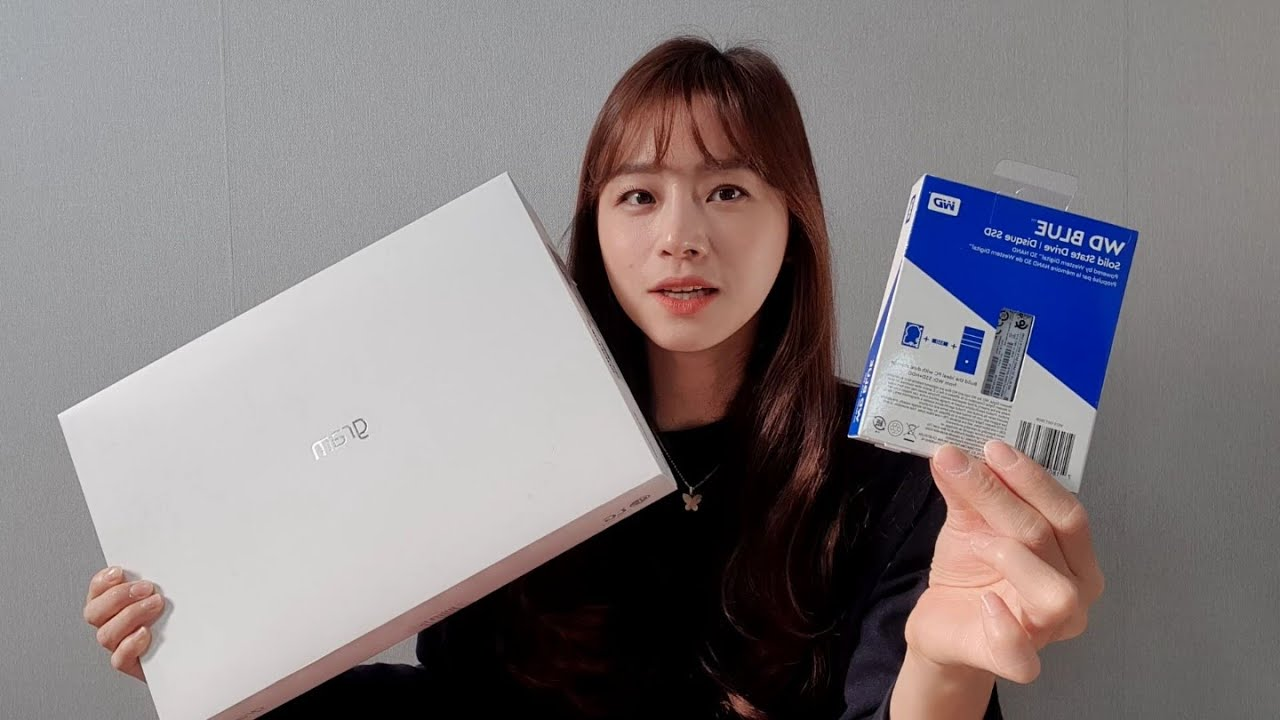 LG그램에 SSD 1TB 추가하기 (저장 용량 업그레이드!)