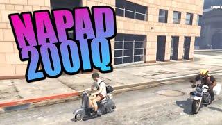 ROMANEK GTA RP | NAPAD 200IQ | Funny Moments thumbnail