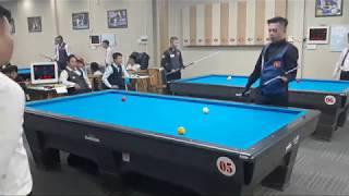Dương Anh Vũ đi series 17 vs Lê Anh Tuấn. Billiards Út Nhi