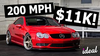 The CHEAPEST Cars That Go 200 MPH