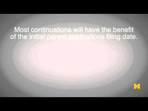 Continuation Patent Applications | IP series 19 of 62