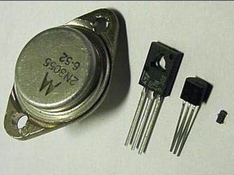 Transistor : Explicacion y tipos