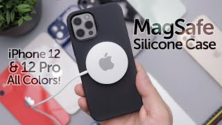 Apple iPhone 12 MagSafe Silicone Case Review on All Colors! Worth It?