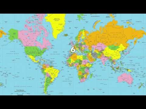 Top 10 Landlocked Countries