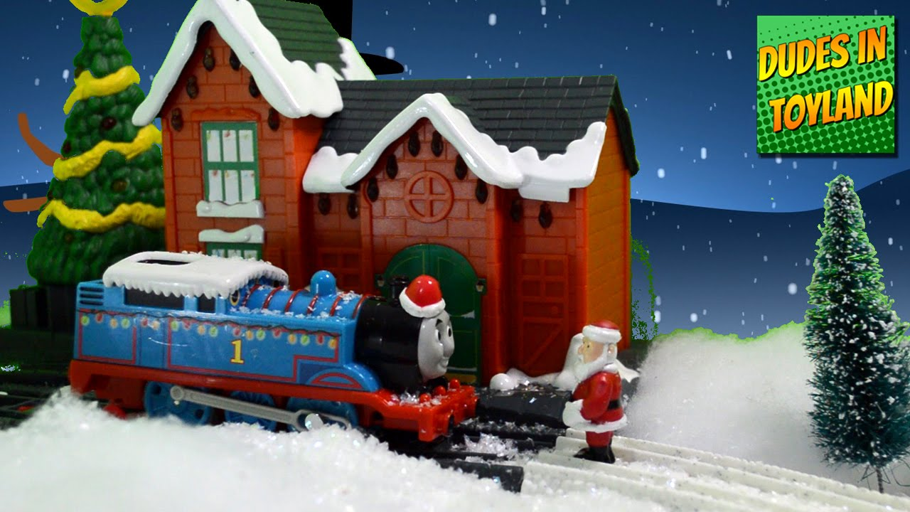 Thomas & Friends in Toyland! Christmas train toys trackmaster ...