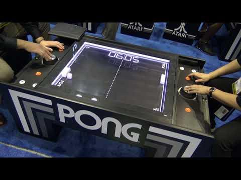 Atari Pong Electromechanical Game @ IAAPA 2017 (Calinfer / UNIS)