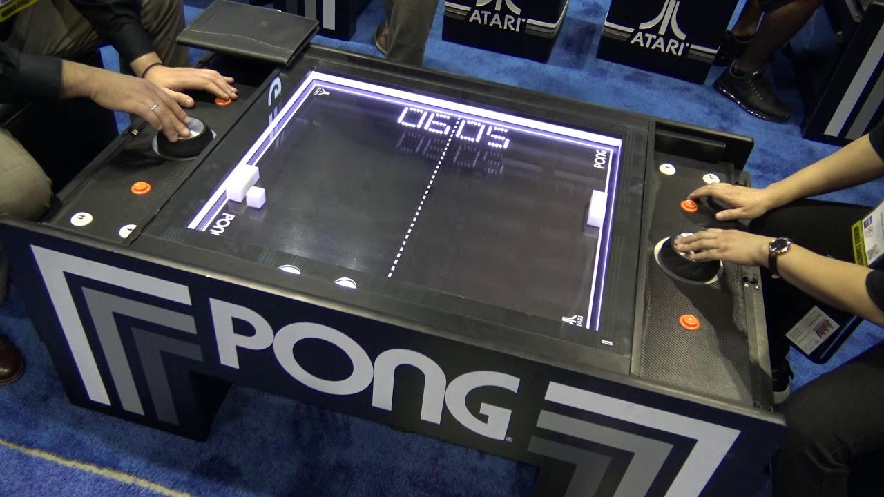 De FlippersBillards JeuxVente Table Planete Atari Pong 5j3q4ARL