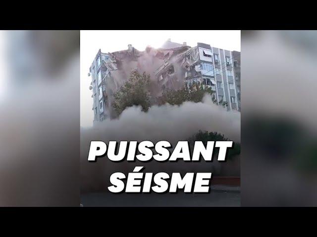 Les images des dégâts en Turquie et en Grèce après le séisme en mer Égée