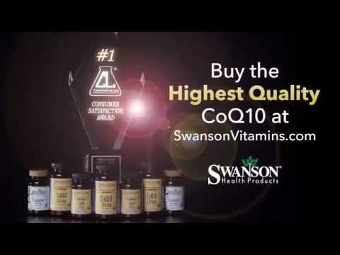Swanson's Top-Rated CoQ10 - ConsumerLab.com Award Winner