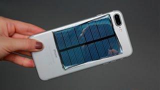 Как сделать зарядное устройство для мобильного телефона - солнечный генератор/solar phone charger